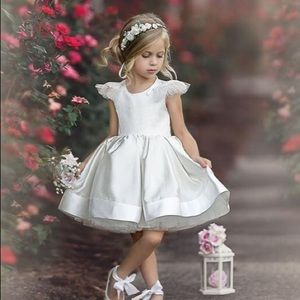 Dollcake Dresses - Dollcake Blush Dreams Dress in Ivory